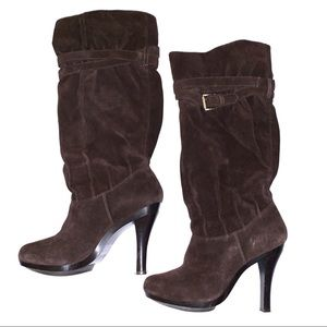Micheal Kors Tall Suede Boots